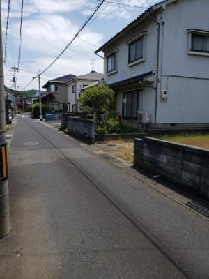 【前面道路含む現地写真】鳥取市卯垣3丁目土地