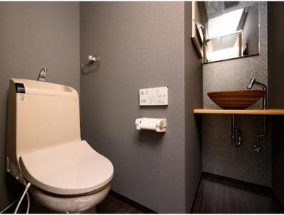 2階トイレです。手洗い付き!