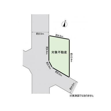 【区画図】藤沢市亀井野 中古戸建