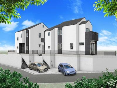 黒と白を基調としたデザイン住宅の誕生です♪ 利便性、機能性を兼ね備えた限定2棟♪