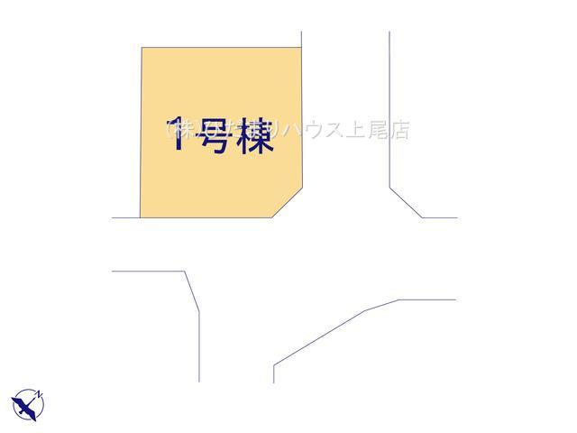 【区画図】鴻巣市北新宿 2期 新築一戸建て ケイアイフィット 01