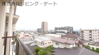 お部屋からの眺望。