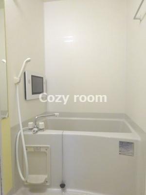 浴室TV付きの浴室です(^-^)