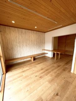 檜の無垢天井です。