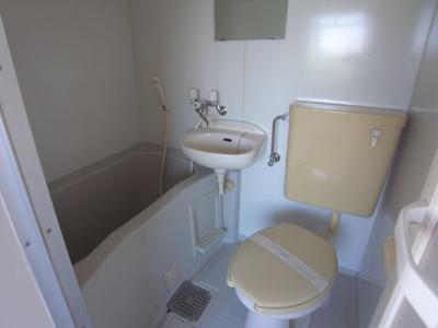 【浴室】デイルーチェ北岸和田