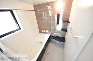 【浴室】畑原通1丁目新築戸建て
