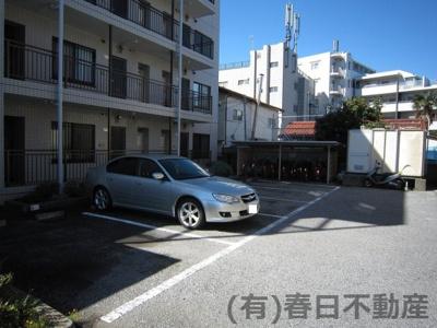 【駐車場】ハイブリッジエステート駐車場