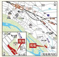 【地図】久下新築住宅
