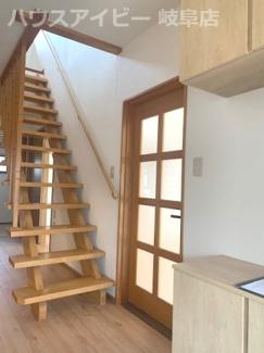 【内装】岐阜市中 中古住宅リフォーム済み エアコン・照明付きですぐに新しい生活が始められます♪ 敷地92坪