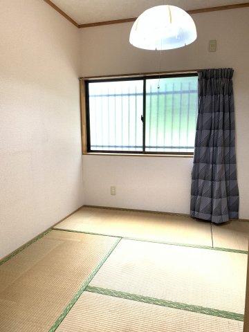 4.5帖の和室です。休憩するお部屋にちょうどいいですね♪