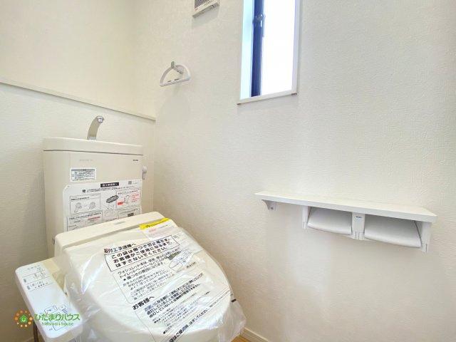 2階にも温水洗浄便座付きトイレを完備しております。