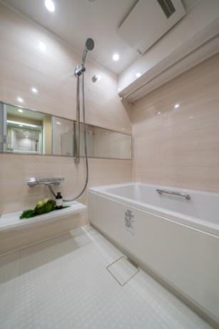 ラフィネ大崎:浴室乾燥機・追い焚き機能付き浴室です!