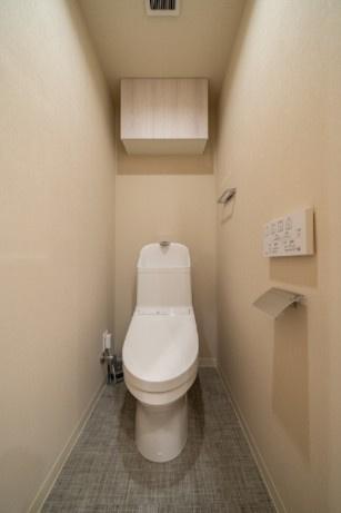 ラフィネ大崎:ウォシュレット機能付き節水型トイレです!