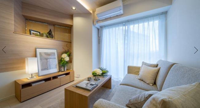 ラフィネ大崎:リビングにはエアコンが1基新規設置されております!
