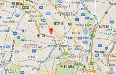 ルーブル飯田橋の所在地