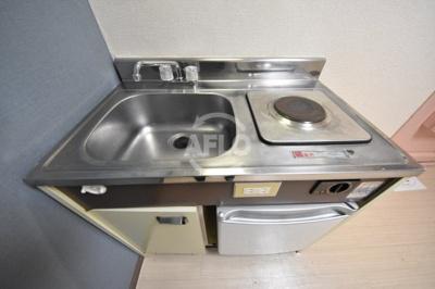 菅栄町レディースマンション キッチン