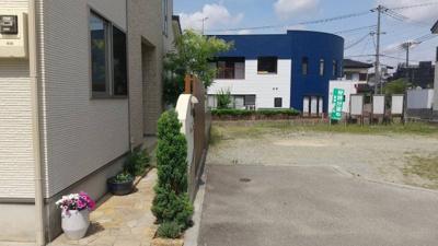 【前面道路含む現地写真】姫路市辻井7丁目/売土地