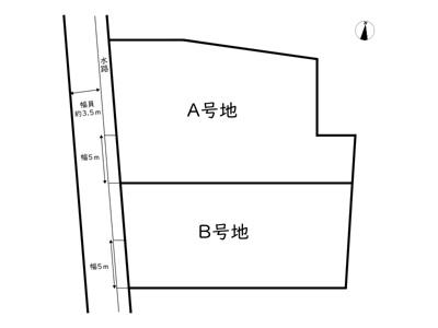 【区画図】姫路市辻井5丁目/2区画