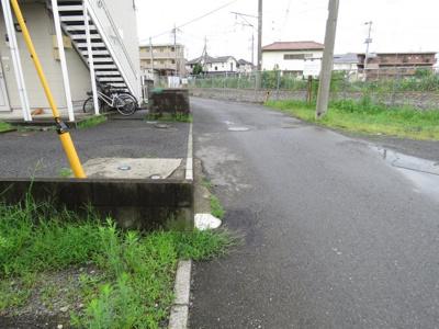 【前面道路含む現地写真】川越市田町20-15売地