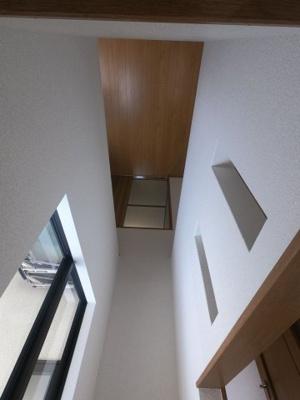 2階吹抜け