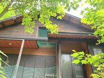 関市板取の別荘です。高台 ウッドデッキあります。近くに釣り堀・板取温泉もあります。の画像