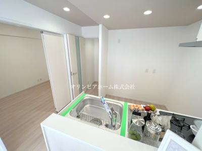 【駐車場】ジュネシオン平井 10階 最 上階 角 部屋 リ ノベーション済