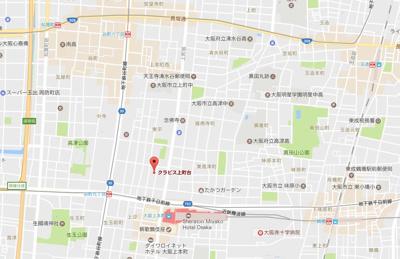 【地図】クラビス上町台