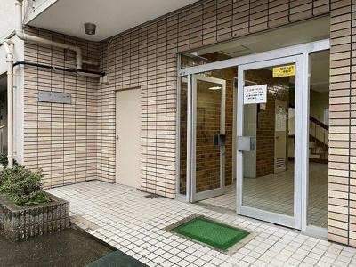 【エントランス】松戸グリーンコーポ