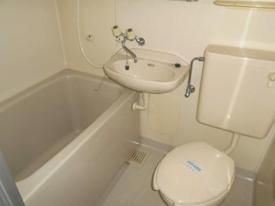 【浴室】コートハウス常盤台