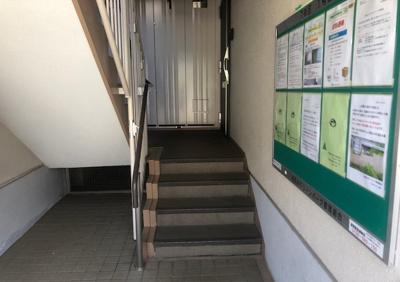 最寄りのバス停です。