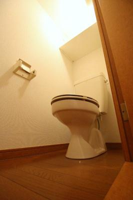 【トイレ】レオパレス大輝