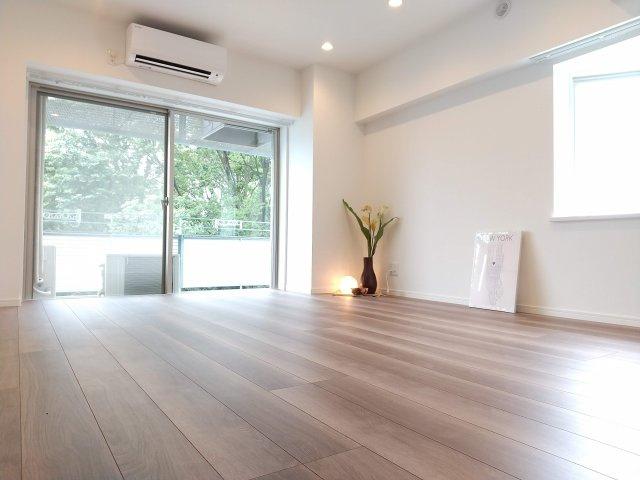 新規リノベーションマンションにつき快適に新生活をスタートできます 家族の集うLDKは11.5帖の解放感あふれる空間です