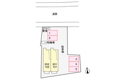 【区画図】プチメゾン・エリ