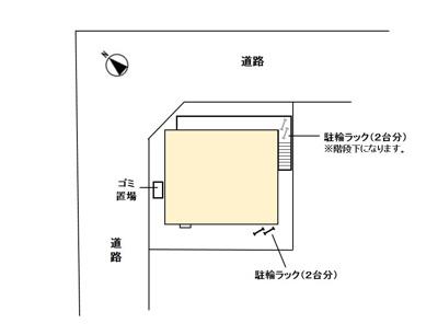 【区画図】プチ フルーレ