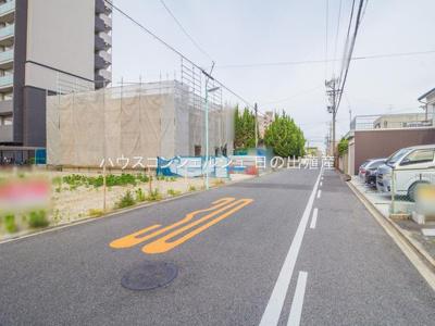【前面道路含む現地写真】名古屋市東区大幸4丁目1503【仲介手数料無料】新築一戸建て 1号棟