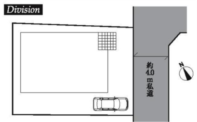 【区画図】新座市野火止5丁目 4780万円 新築一戸建て【仲介手数料無料】