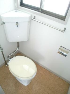 【トイレ】芦花公園アパート
