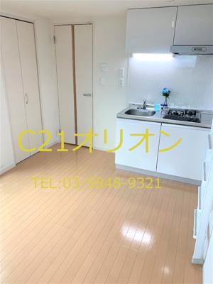 【居間・リビング】ピアーチェ鷺ノ宮(サギノミヤ)-3F