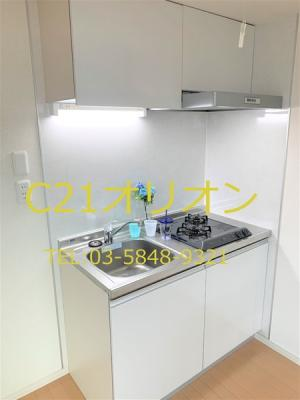 【キッチン】ピアーチェ鷺ノ宮(サギノミヤ)-3F