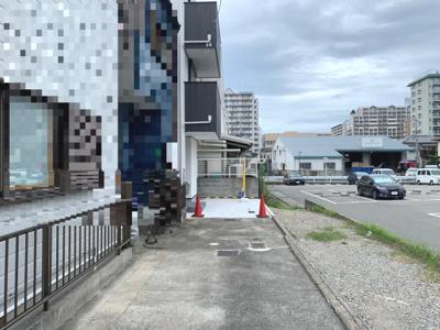 【前面道路含む現地写真】PLAISIR西宮北口