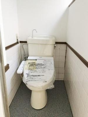 【トイレ】朝日が丘1 貸家