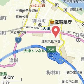 【地図】朝日が丘1 貸家