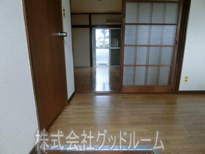 【玄関】山口コーポ