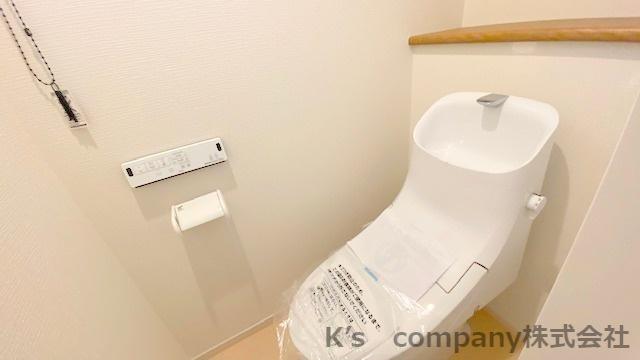 【トイレ】藤沢市本藤沢3丁目 新築戸建1号棟