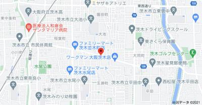 【地図】ナイゼハイツ