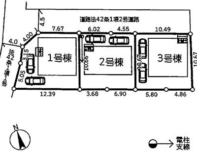 【区画図】新築 京王相模原線 橋本駅 相模線 南橋本駅 田名