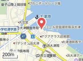 【地図】エリセオびわ湖