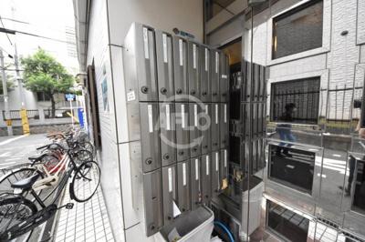 菅栄町レディースマンション 集合ポスト