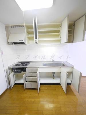 【キッチン】アブニール白妙~仲介手数料無料キャンペーン~