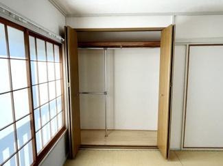 和室のクローゼット